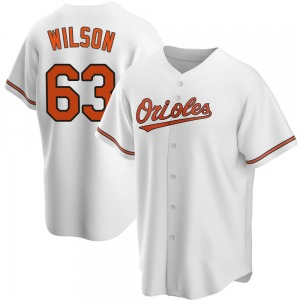 Youth Baltimore Orioles Tyler Wilson White Home Jersey - Replica